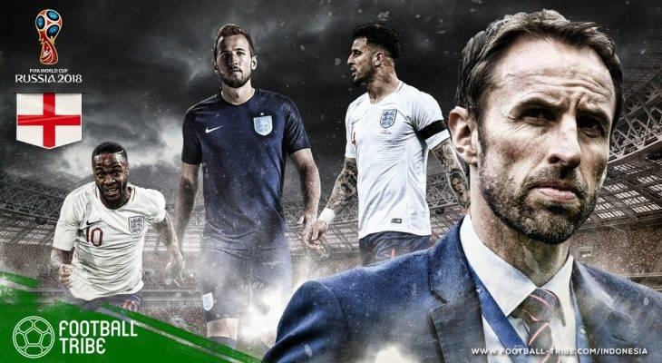 Profil Inggris di Piala Dunia 2018: Saatnya Membuktikan Mulut Besar Negeri Ratu Elizabeth