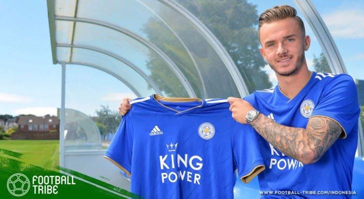 James Maddison, Bintang Timnas U-21 Inggris Rekrutan Baru Leicester City