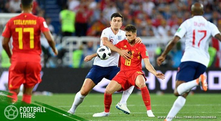 Piala Dunia 2018, Inggris vs Belgia: Duel Pemain Pelapis yang Berakhir Manis untuk Setan Merah
