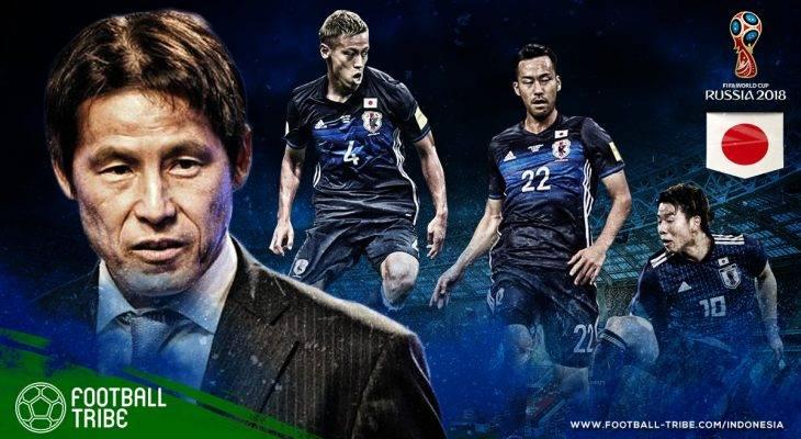 Profil Jepang di Piala Dunia 2018: Dua Sisi Skuat Veteran
