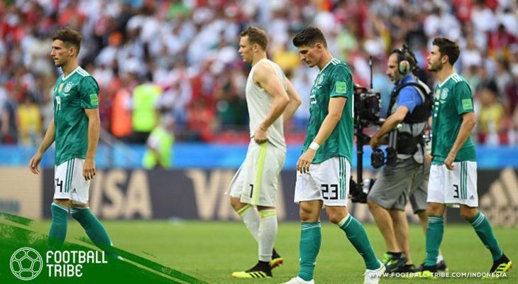 Semua Juara Bertahan Piala Dunia yang Tersingkir di Fase Grup