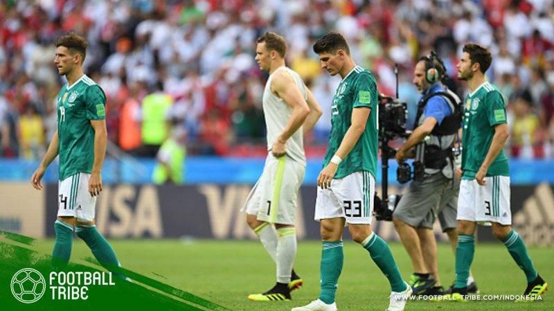 minggu kedua penyelenggaraan kutukan juara bertahan di Piala Dunia