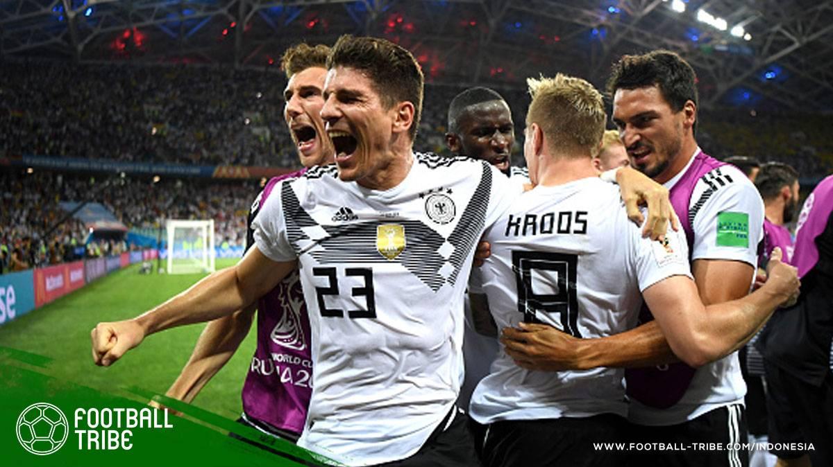 Hasil Piala Dunia 2018 Hari Kesembilan (23-24 Juni): Sempurnanya Belgia, Tiket 16 Besar Meksiko, dan Comeback Manis Jerman