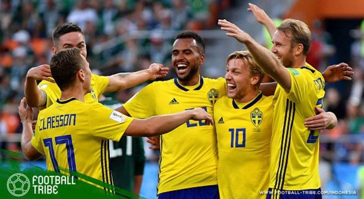 Piala Dunia 2018, Meksiko vs Swedia: Kekalahan Satu Tim, Kemenangan Keduanya