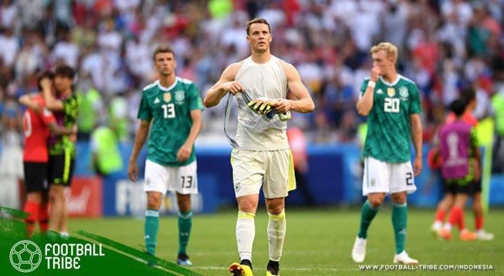 Jerman Lanjutkan Tradisi Juara Bertahan Tidak Lolos Fase Grup Piala Dunia