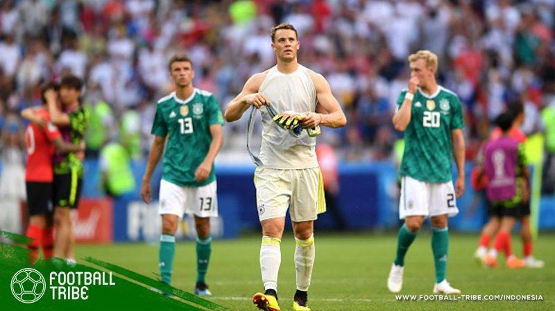 Jerman tidak lolos penyisihan grup