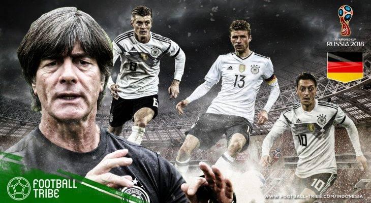 Profil Jerman di Piala Dunia 2018: Persiapan yang Tidak Semulus Tahun 2014