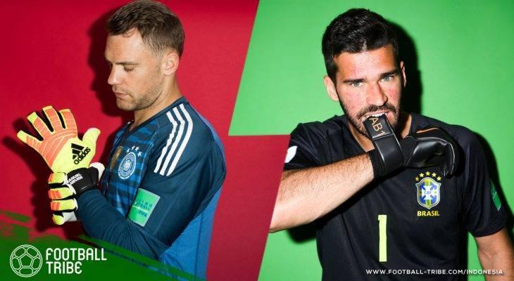 Lima Kandidat Peraih Sarung Tangan Emas di Piala Dunia 2018