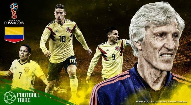 Profil Kolombia di Piala Dunia 2018: Transisi yang Berisiko