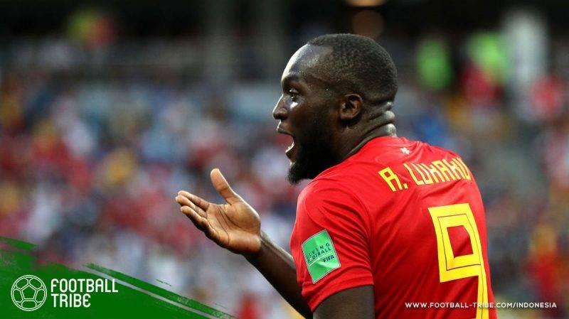 Romelu juga menjadi bintang Belgia
