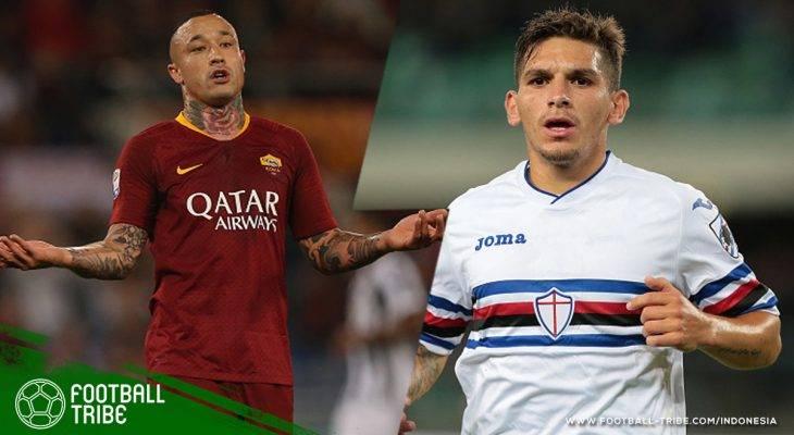 Bursa Transfer: Radja Nainggolan Diisukan ke Internazionale Milano, Arsenal di Ambang Mendapatkan Bernd Leno dan Lucas Torreira