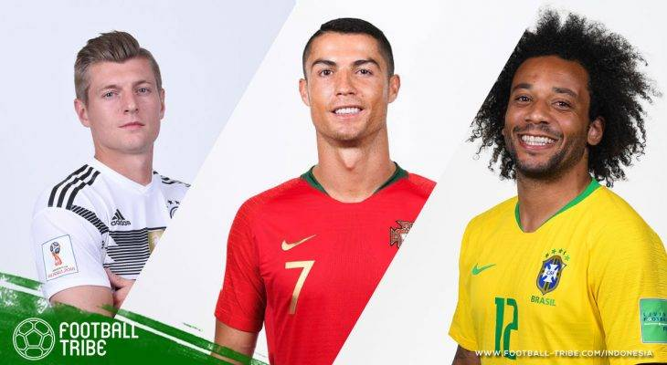 Sinar Cerah Pemain Real Madrid di Piala Dunia 2018