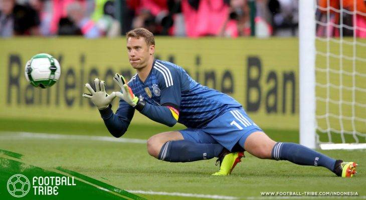 Kekalahan dari Austria sambut comeback Manuel Neuer di Timnas Jerman