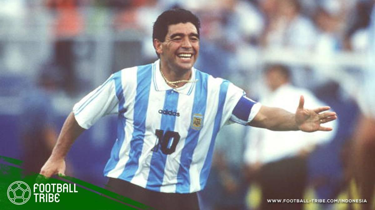 Diego Maradona dan Beragam Kontroversi di Piala Dunia