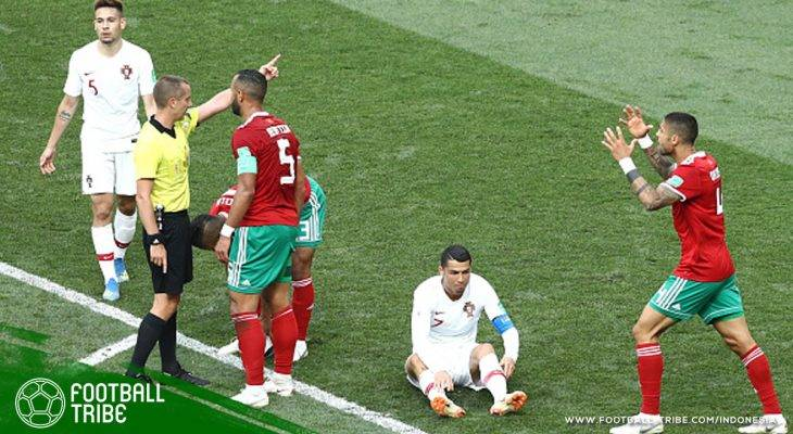 FIFA: Wasit Mark Geiger Tidak Meminta Jersey Cristiano Ronaldo