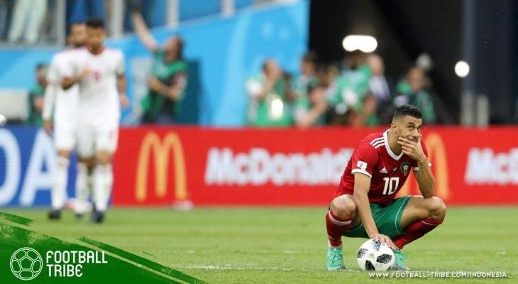 Piala Dunia 2018, Maroko vs Iran: Neraka Enam Menit yang Kelam bagi Singa Atlas