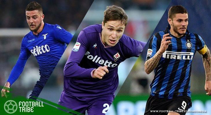 Para Bintang Serie A yang Harganya Selangit Jika Pindah Musim Panas Ini