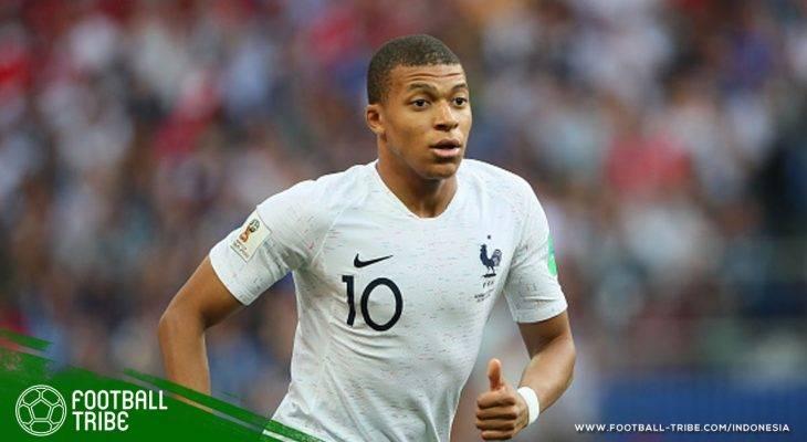 Kylian Mbappe Donasikan Gajinya Tampil untuk Prancis di Piala Dunia 2018