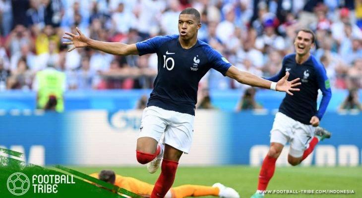 Piala Dunia 2018, Prancis vs Argentina: Kylian Mbappe Pulangkan Lionel Messi