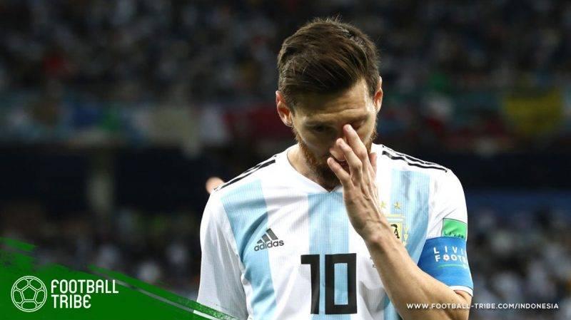 tak ada waktu bagi Messi