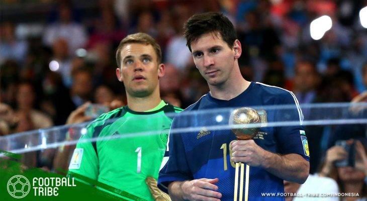 Dari Mario Kempes hingga Lionel Messi, Inilah Pemain Terbaik Piala Dunia Selama 10 Edisi Terakhir