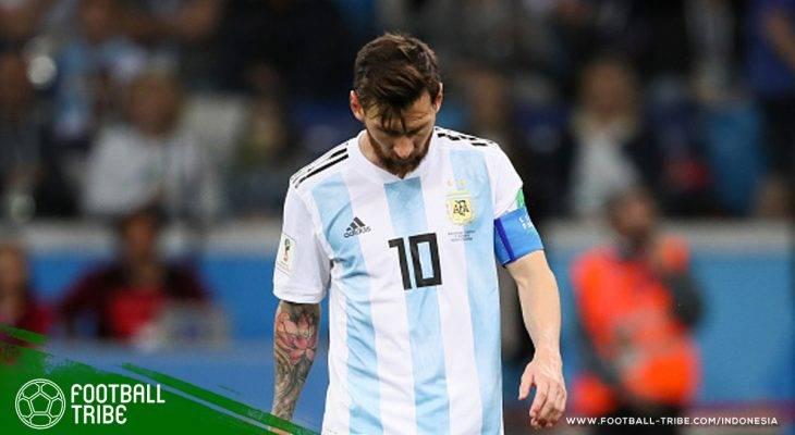 Piala Dunia 2018, Argentina vs Kroasia: Lionel Messi Angkat Koper Lebih Cepat? Pantasnya Seperti Itu!