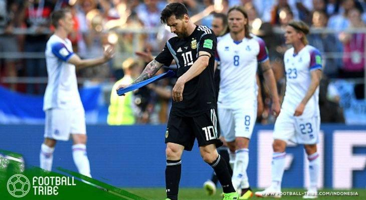 Piala Dunia 2018, Argentina vs Islandia: Spirit Pasukan Viking yang Sukses Bungkam Lionel Messi