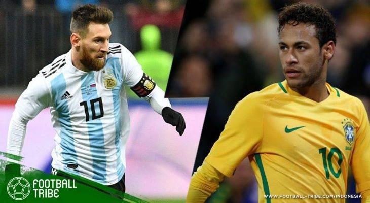 Tiap Gol yang Dicetak Lionel Messi dan Neymar di Piala Dunia akan Beri Makanan Gratis bagi Anak-Anak Kelaparan di Dunia
