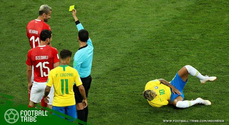 Sebuah Pub di Brasil Berikan Minuman Gratis Tiap Neymar Terjatuh di Piala Dunia 2018