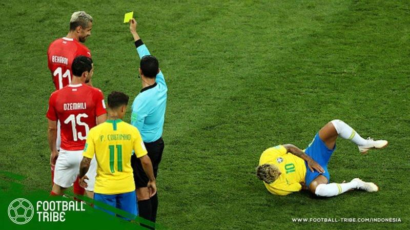 Neymar memang menjadi perhatian