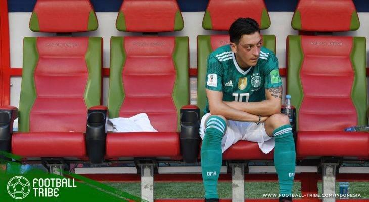 Mesut Özil Berseteru dengan Suporter Jerman di Kazan Arena