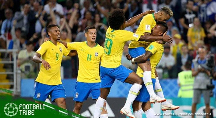 Piala Dunia 2018, Serbia vs Brasil: Menanti Tarian Samba Sesungguhnya di Fase Gugur