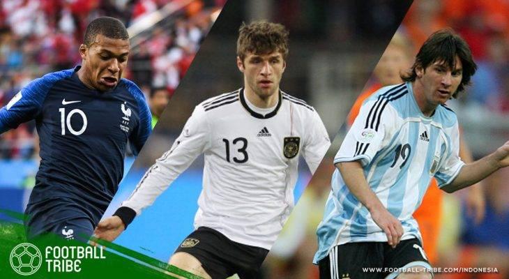 Para Remaja yang Mencetak Gol di Piala Dunia dalam 20 Tahun Terakhir