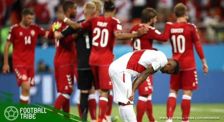 Piala Dunia 2018, Peru vs Denmark: Dewi Fortuna dan Efektivitas yang Tidak Dimiliki Peru