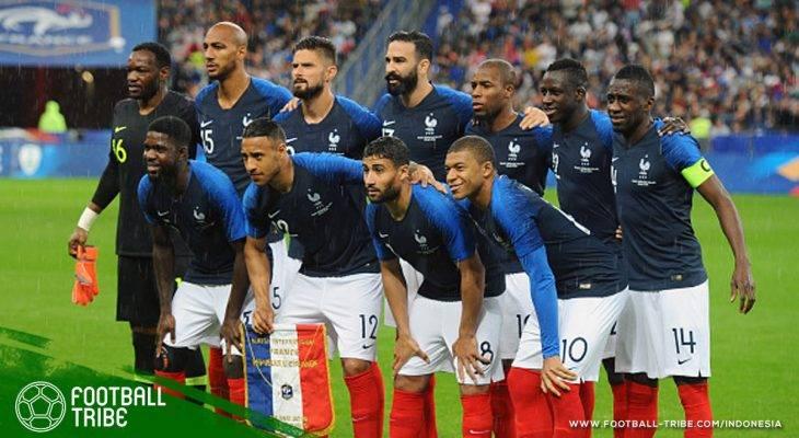 Romantisme Arsenal dan Timnas Prancis yang Berakhir di Piala Dunia 2018