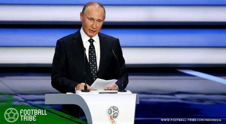 Vladimir Putin Sambut Peserta Piala Dunia dan Suporternya yang Datang ke Rusia
