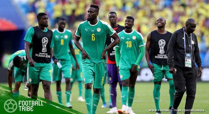 Tangis Wakil Afrika di Piala Dunia 2018