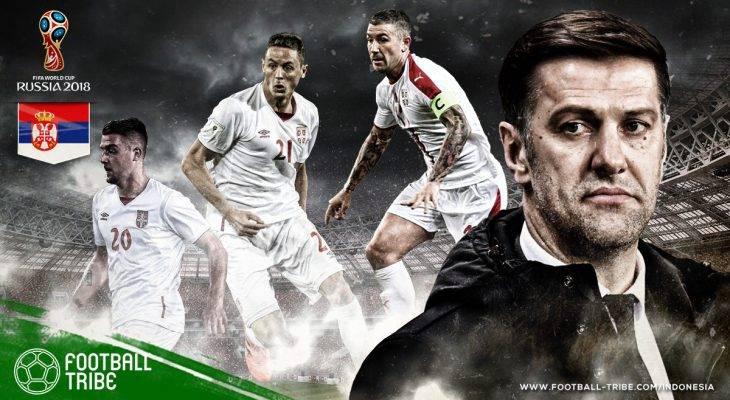 Profil Serbia di Piala Dunia 2018: Sejarah Baru yang Ingin Ditulis Elang Balkan