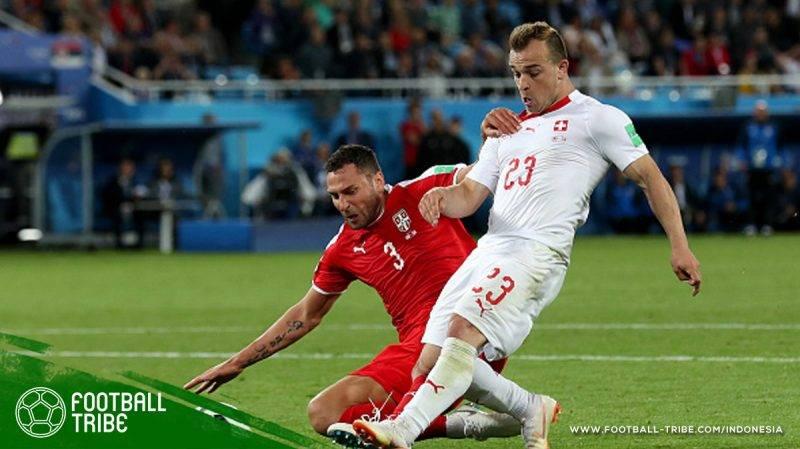 Serbia melawan Swiss