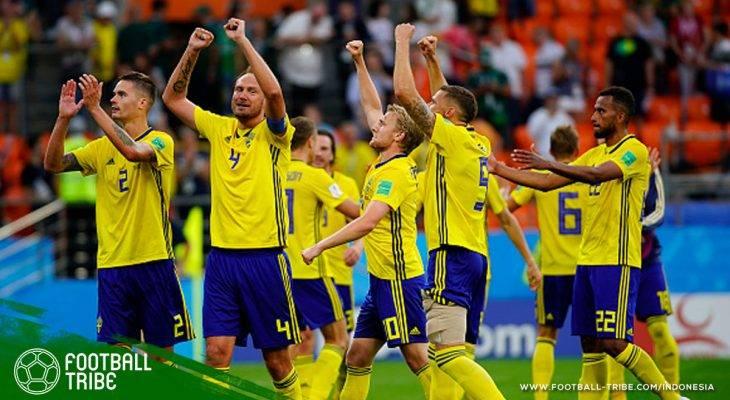 Swedia yang Bukan Sekadar Kuda Hitam di Piala Dunia 2018