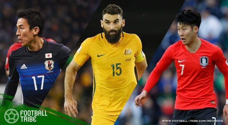 Kesebelasan Pemain Terbaik Asia Peserta Piala Dunia 2018