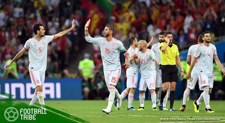 Spanyol Miskin Eksekutor Tendangan Bebas di Piala Dunia 2018