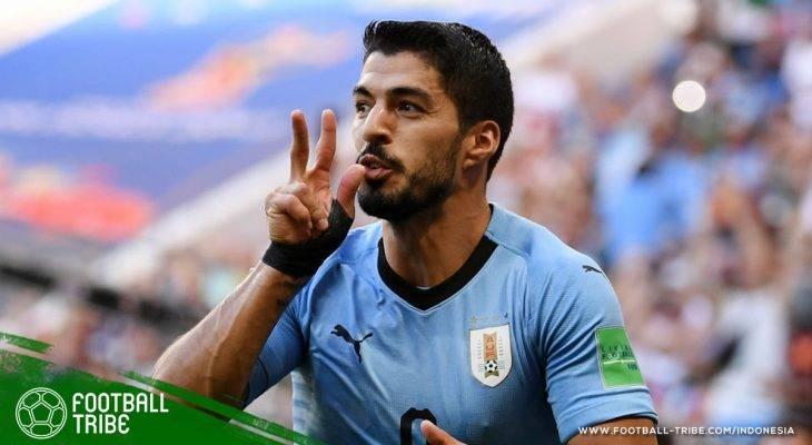 Piala Dunia 2018, Uruguay vs Arab Saudi: Kaki-Kaki Veteran Uruguay Pulangkan Arab Saudi