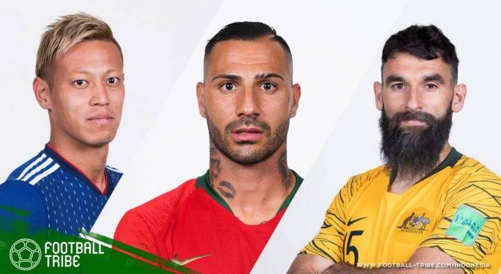 Para Pemain Gaek yang Menunjukkan Pengalamannya di Piala Dunia 2018