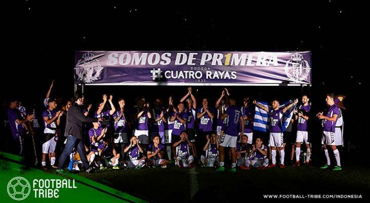 Real Valladolid, Peserta Terakhir LaLiga 2018/2019 yang Dikabarkan akan Diambil Alih Ronaldo Nazario