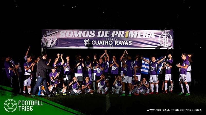 Real Valladolid melengkapi 20 klub peserta