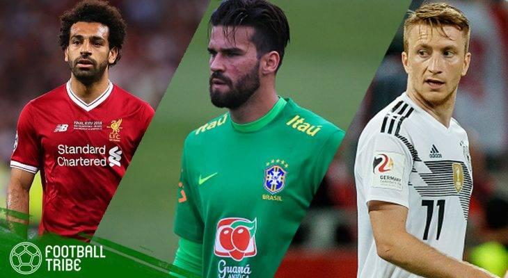 Kumpulan Sebelas Pemain Terbaik yang akan Menjalani Piala Dunia Pertamanya di Rusia 2018