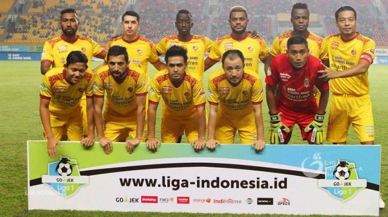 Sriwijaya FC melakukan aksi mogok