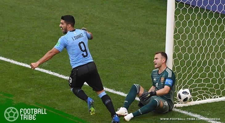 Piala Dunia 2018, Uruguay vs Rusia: Duel 'Raja' Grup A yang Berakhir Manis bagi Uruguay