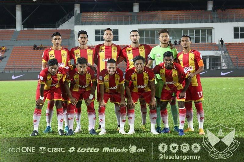 Selangor FA sedikit memperbaiki posisi